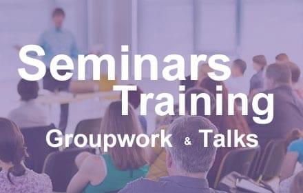 Seminars, Groupwork, Training & Talks - Clinical Hypnotherapy Bristol & Gloucestershire